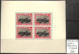 NB - [409620]TB//**/Mnh-Congo Belge 1937 - BL1-VAR, Points + Cadre Brisé, Arbres, Nature - Congo Belge