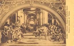 ROMA - Vaticano - Stanze Di Raffaello Sanzio - Eliodoro Scacciato Dal Tempio. - Vatikanstadt
