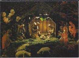 DE.-  WORMBACH HOCHSAUERLAND. PFARRKIRCHE St. PETER AND PAUL. - WEIHNACHTSKRIPPE. - Eglises Et Cathédrales