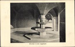 Cp Stuttgart In Bade Württemberg, Brunnen In Der Liegehalle - Deutschland