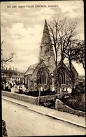 Cp Jersey Kanalinseln, Grouville Church - Sonstige