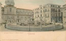 ITALIE PALERMO LA GRAN FONTANA IN PIAZZA PRETORIA - Palermo