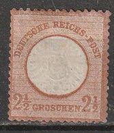 Allemagne N° 18 *, 2 1/2 Groschen. Voir Description - Deutschland