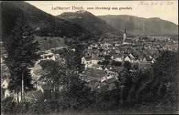 Cp Bad Urach, Panoramablick Auf Die Stadt Vom Hochberg Gesehen - Sonstige