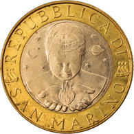 Monnaie, San Marino, 1000 Lire, 2000, Rome, SUP+, Bi-Metallic, KM:405 - San Marino