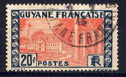 GUYANE - N° 132° -  HÔTEL DU GOUVERNEMENT A CAYENNE - Guyane Française (1886-1949)
