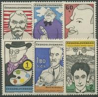 Tschechoslowakei 1969 Karikatur Persönlichkeiten 1878/83 Postfrisch - Czechoslovakia