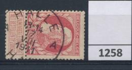 Nr 74    Met Stempel  Halle A - 1905 Grove Baard