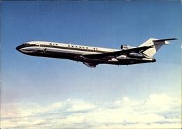 Cp Französisches Passagierflugzeug Der Air France, Boeing 727 - Avions