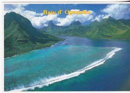 Tahiti - Vue Aérienne De L'ile De Moorea - Tahiti