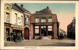 Cp Bavay Bagacum Nord, L'École Primaire Supérieure, Café De L'Univers - Andere Gemeenten