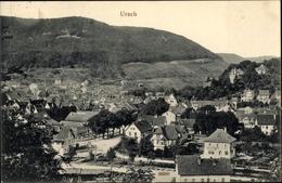 Cp Bad Urach In Der Schwäbischen Alb, Blick Auf Den Ort Mit Umgebung - Sonstige