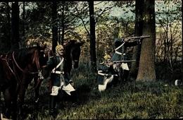 Cp Borna In Sachsen, Karabiniers Patrouille Im Gefecht, I. WK - Otros