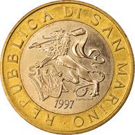 Monnaie, San Marino, 1000 Lire, 1997, Rome, SUP, Bi-Metallic, KM:368 - San Marino