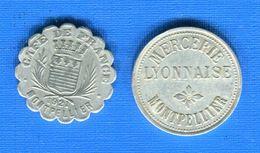 Montpellier  2  Jetons - Monétaires / De Nécessité