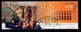 ! ! Portugal - 2005 Lisbon Earthquake - Af. 3355 - Used - 1910-... République