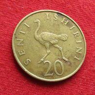 Tanzania 20 Senti 1973 Tanzanie Wºº - Tansania