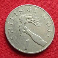 Tanzania 1 Shilling 1972 Tanzanie Wºº - Tansania