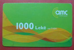 Albania Prepaid Card, Operator VODAFONE (value 1000 Leke) - Albania