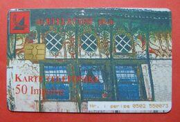 Albania Prepaid Card, Operator Albtelecom (50 Units) City Of Berat - Albania