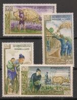 Laos - 1963 - N°Yv. 86 à 89 - Contre La Faim - Neuf Luxe ** / MNH / Postfrisch - Laos