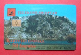 Albania Prepaid Card, Operator Albtelecom (50 Units) City Of Shkodra - Albania