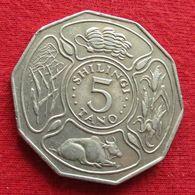 Tanzania 5 Shilling 1980 Tanzanie Wºº - Tansania