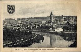 Blason Cp Diez Im Rhein Lahn Kreis Rheinland Pfalz, Panoramablick Auf Die Stadt - Otros