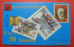 Albania Prepaid Card, Operator Albtelecom (50 Units) 85 Years Post Administration - Albania