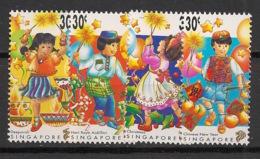 Singapore - 1998 - N°Yv. 884 à 887 - Fêtes - Neuf Luxe ** / MNH / Postfrisch - Singapur (1959-...)