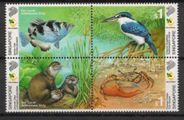 Singapore - 2000 - N°Yv. 966 à 969 - Faune - Neuf Luxe ** / MNH / Postfrisch - Singapur (1959-...)