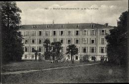 Cp Pau Pyrénées Atlantiques, Hopital Complementaire Nr. 34, Gebäude, Wiese - Autres Communes