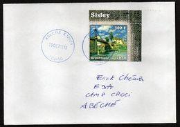 TCHAD Enveloppe Cover Oblitération Abéché 19 10 2018 - Tchad (1960-...)