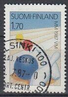 FINLAND 1015,used,falc Hinged - Bowls