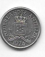 *netherlands Antilles 10 Cent  1974  Km 10  Xf+/ms60 - Antillen (Niederländische)