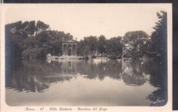 C. Postale - Roma - Villa Umberto - Giardino Del Lago - Circa 1910 - Non Circulee - A1RR2 - Parks & Gardens
