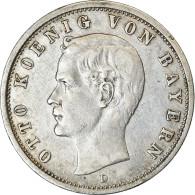 Monnaie, Etats Allemands, BAVARIA, Otto, 2 Mark, 1900, Munich, TTB+, Argent - [ 2] 1871-1918: Deutsches Kaiserreich