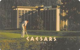 Caesars Tahoe Casino - Lake Tahoe, NV - Hotel Room Key Card - Hotel Keycards