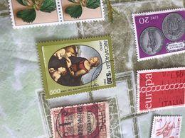 NICARAGUA ARTE SACRA 1 VALORE  ! - Stamps
