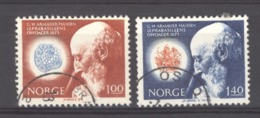 Norvège :  Yv  614-15  (o) - Norwegen