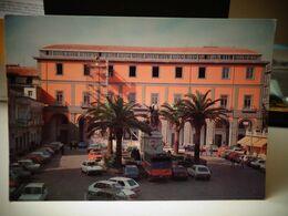 Cartolina  Aversa Piazza Municipio Auto Cars Palme - Aversa