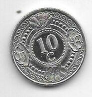 *netherlands Antilles 10 Cent  1992  Km 34  Bu/ms65 - Antillen (Niederländische)