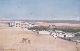 QG - EGIPT - Cairo - Mena House Hotel (Taken From Top Of Pyramids) - Le Caire