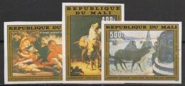 Mali - 1980 - PA N°Yv. 407 à 409 - Rembrandt / Gauguin - Non Dentelé / Imperf. - Neuf Luxe ** / MNH / Postfrisch - Rembrandt