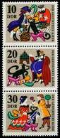 DDR ZUSAMMENDRUCK Nr SZd93 Postfrisch SENKR PAAR SB9843A - DDR
