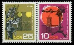 DDR ZUSAMMENDRUCK Nr WZd188 Postfrisch WAAGR PAAR SB984F2 - DDR
