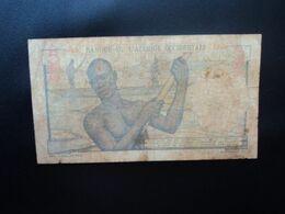 AFRIQUE OCCIDENTALE FRANÇAISE : BÉNIN * : 5 FRANCS   2-10-1951   K 181 / P 36     B+ - Benin