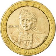 Monnaie, Chile, 100 Pesos, 2001, Santiago, TTB, Bi-Metallic, KM:236 - Chile