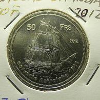 Bassas Da India 50 Francs 2012 - Monedas