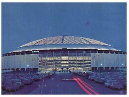 (G 11) USA To Australia - (with Stamp) Texas -  Houston Astrodome Stadium - Stadions